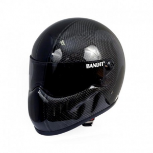 BANDIT XXR RACE CARBON Full Face Helmet - Carbon Black