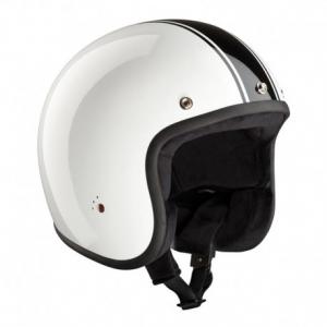 BANDIT CLASSIC ECE Jet Helmet - White