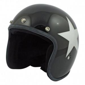 BANDIT STAR Jet Helmet - Black