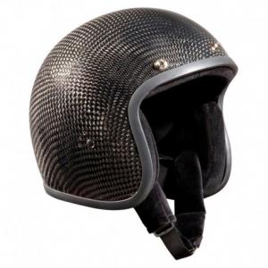 BANDIT CARBON Jet Helmet - Carbon Black