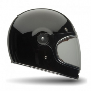 BELL BULLITT SOLID BLACK Full Face Helmet - Gloss Black