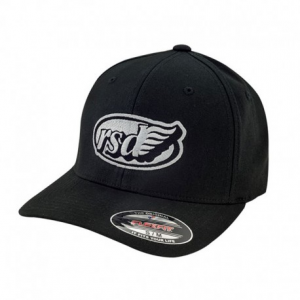 ROLAND SANDS DESIGN East Coast Café Wing Hat - Black