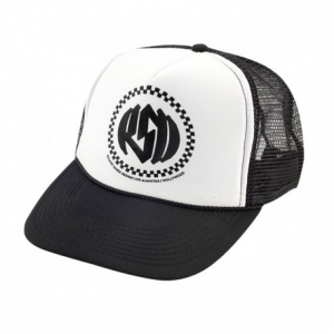 ROLAND SANDS DESIGN Winners Circle Hat - White/Black