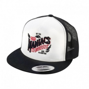 ROLAND SANDS DESIGN Trucker Maniacs Hat - White/Black