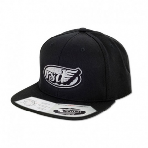 ROLAND SANDS DESIGN Café Wing Hat - Black