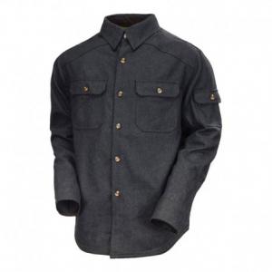 ROLAND SANDS DESIGN Bandito Man Shirt - Charcoal Black