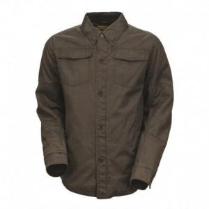 ROLAND SANDS DESIGN Overshirt Chandler Man Shirt - Charcoal Black