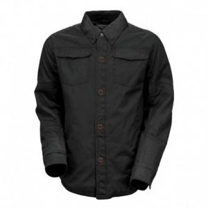 ROLAND SANDS DESIGN Overshirt Chandler Man Shirt - Black