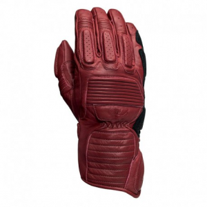 ROLAND SANDS DESIGN Ace Motorcycle Gloves - Blood Red