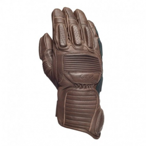 ROLAND SANDS DESIGN Ace Motorcycle Gloves - Tobacco Brown