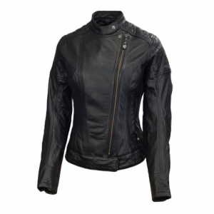 ROLAND SANDS DESIGN Riot Giubbotto in Pelle Donna - Nero