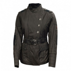 ROLAND SANDS DESIGN Vex Textile Woman Jacket - Charcoal Black