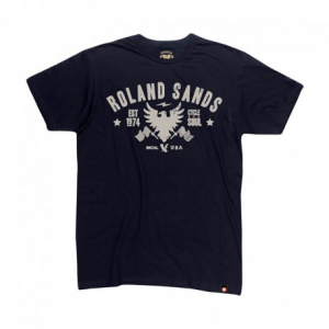 ROLAND SANDS DESIGN Cycle Soul T-Shirt Uomo - Nero