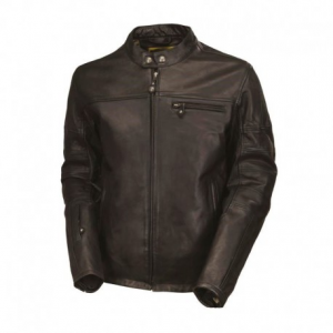 ROLAND SANDS DESIGN Ronin Leather Jacket Man - Black