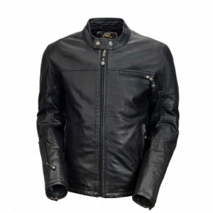 ROLAND SANDS DESIGN Ronin Reserve Leather Jacket Man - Black