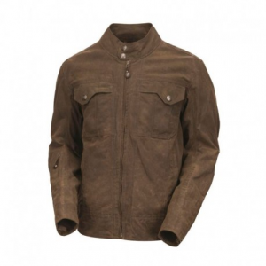 ROLAND SANDS DESIGN Tracker Textile Jacket Man - Brown