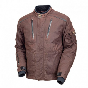 ROLAND SANDS DESIGN Edwards Textile Jacket Man - Brown