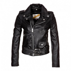 SCHOTT NYC Perfecto Leather Jacket Woman - Black