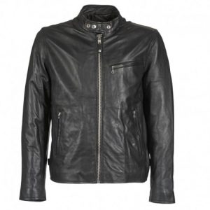 SCHOTT NYC Classic Racer Leather Jacket Man - Black