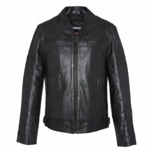 SCHOTT NYC Racer Leather Jacket Man - Black
