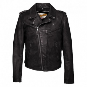 SCHOTT NYC Icon Perfecto Leather Jacket Man - Black
