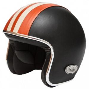BARUFFALDI ZEON VINTAGE ORON Jet Helmet - Black