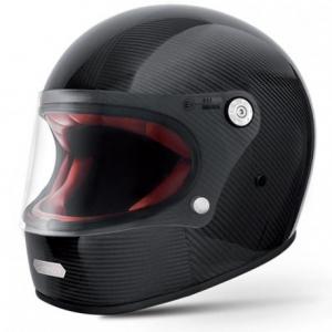PREMIER Trophy Carbon Full Face Helmet - Black - Special Offer