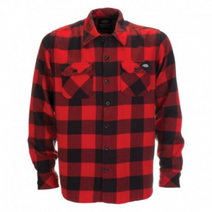DICKIES Sacramento Man Shirt - Red