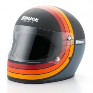 BLAUER 80S Full Face Helmet - Matt Black