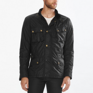 BELSTAFF Crosby Textile Jacket Man - Black