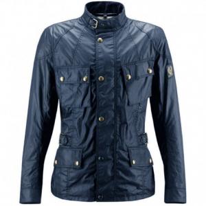 BELSTAFF Crosby Textile Jacket Man - Blue Navy