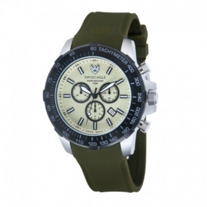 Swiss Eagle Herzog SE-9065-09 - Watch - Military Green
