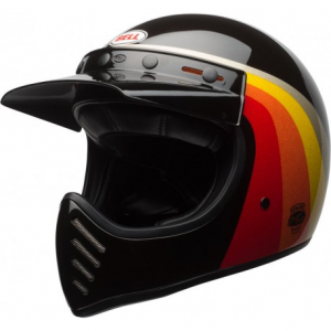 BELL MOTO 3 CHEMICAL CANDY Casco Integrale - Nero e Oro