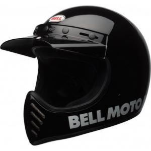 BELL MOTO 3 CLASSIC BLACK Full Face Helmet - Black