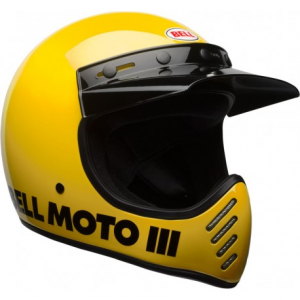 BELL MOTO 3 CLASSIC YELLOW Casco Integrale - Giallo