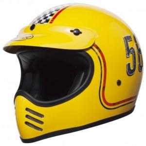PREMIER MX FL12 Full Face Helmet - Yellow