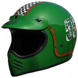 PREMIER MX FL6 Full Face Helmet - Green
