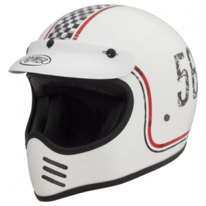 PREMIER MX FL8 Full Face Helmet - White