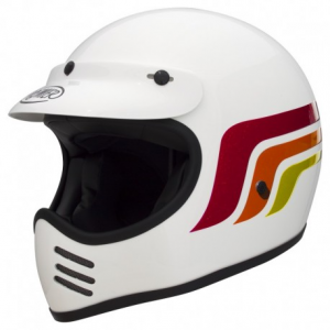 PREMIER MX LC8 Full Face Helmet - White