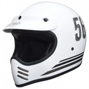 PREMIER MX P4 Full Face Helmet - White