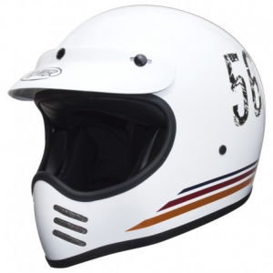 PREMIER MX P5 Full Face Helmet - White