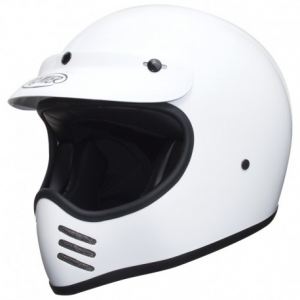 PREMIER MX U8 Full Face Helmet - White