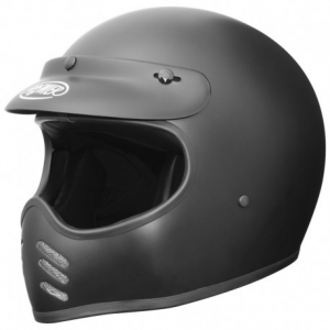 PREMIER MX U9BM Full Face Helmet - Matt Black