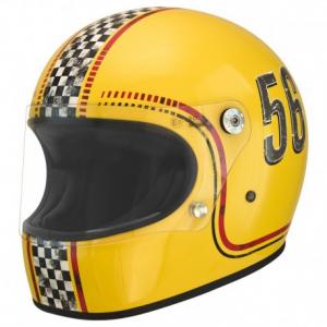 PREMIER Trophy FL12 Full Face Helmet - Yellow