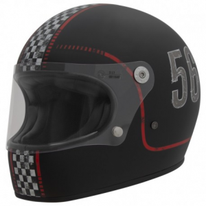 PREMIER Trophy FL9BM Full Face Helmet - Matt Black