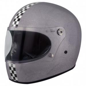 PREMIER Trophy CK Old Style Silver Full Face Helmet - Silver