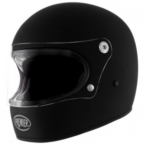 PREMIER Trophy U9BM Full Face Helmet - Matt Black