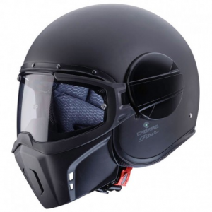 CABERG Ghost Open Face Helmet - Matt Black