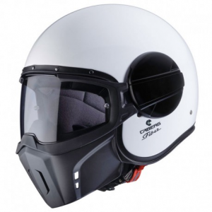 CABERG Ghost Open Face Helmet - White