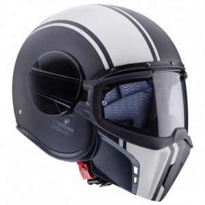 CABERG Ghost LEGEND Casco Jet - Nero Opaco